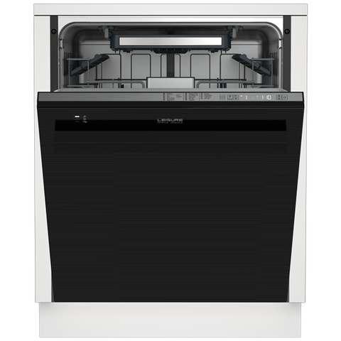 Leisure PDU34390 Full Size  Built-In Dishwasher -  Black