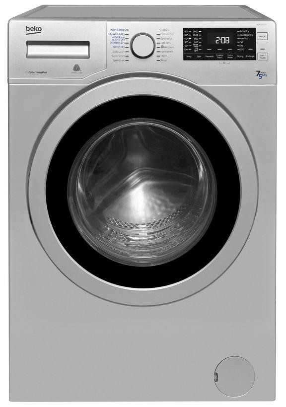 Beko WDR7543121S 7kg 1400rpm  Washer Dryer - Silver