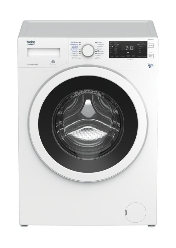 Beko WDR7543121W 7kg 1400rpm  Washer Dryer - White