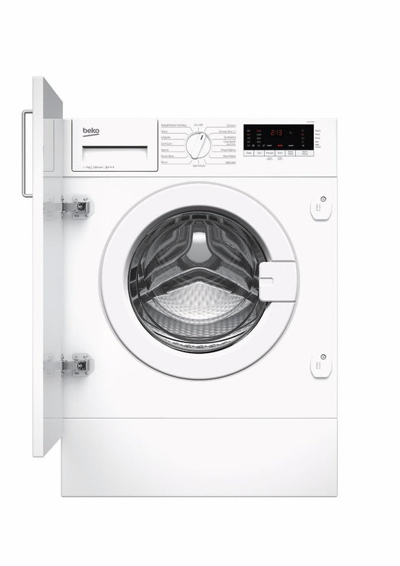 Beko WIY72545 7kg 1200rpm Built-In Washing Machine - White