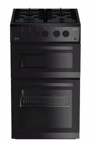 Beko KDG582K Gas Cooker - Black