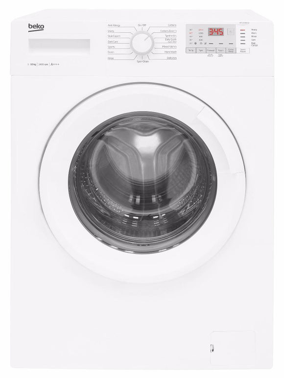 Beko WTG1041B2W 10kg 1400rpm Washing Machine - White