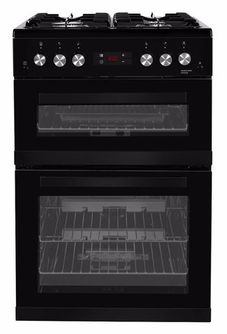 Beko KDG653K 60cm Gas Cooker - Black