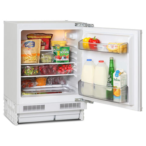 Montpellier MBUL100 Built-In Fridge - White
