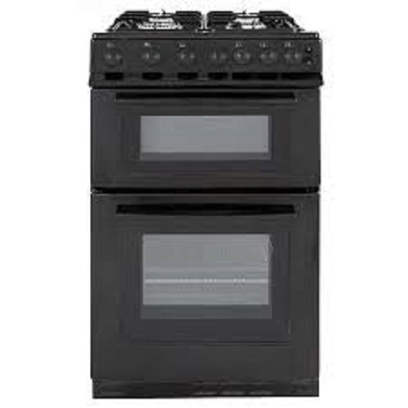 Servis STG500K Gas Cooker - Black