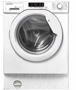 Hoover HBWM816S 8kg 1600rpm Built-In Washing Machine - White