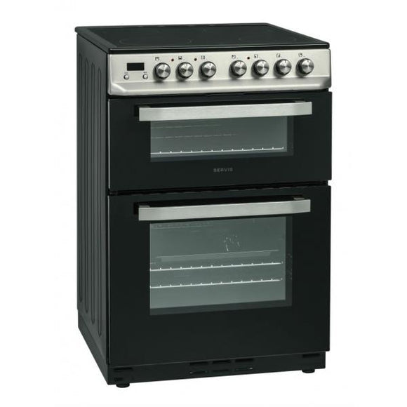 Servis SCF60X Electric Cooker - Stainless Steel