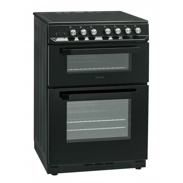 Servis SCF60K Electric Cooker - Black