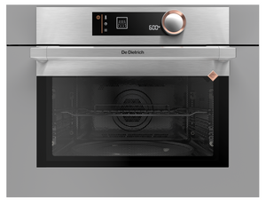 De Dietrich DKC7340G Built-In Microwave Combination Oven - Iron Grey