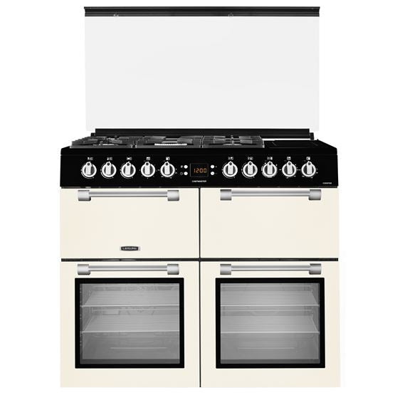 Leisure CC100F521C 100cm Dual Fuel Range Cooker - Cream