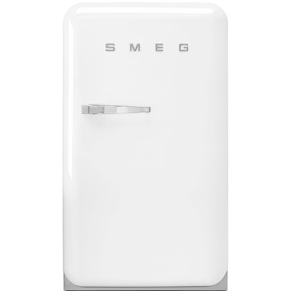Smeg FAB10RB Undercounter Retro Fridge - White