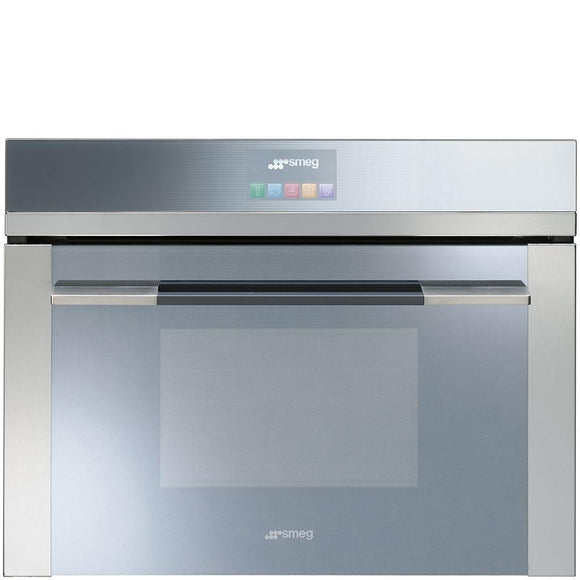 Smeg SF4140VC Built-In Steam Oven - Stainless Steel