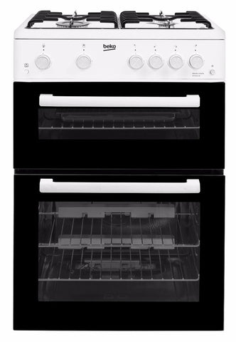 Beko KTG611W 60cm Gas Cooker - White