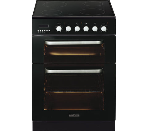 Baumatic BCE625BL Electric Cooker - Black