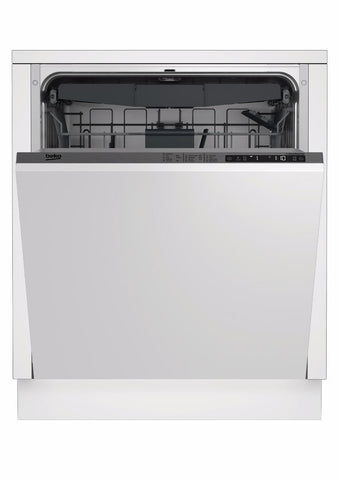 Beko DIN28R22 Full Size Built-In Dishwasher- White