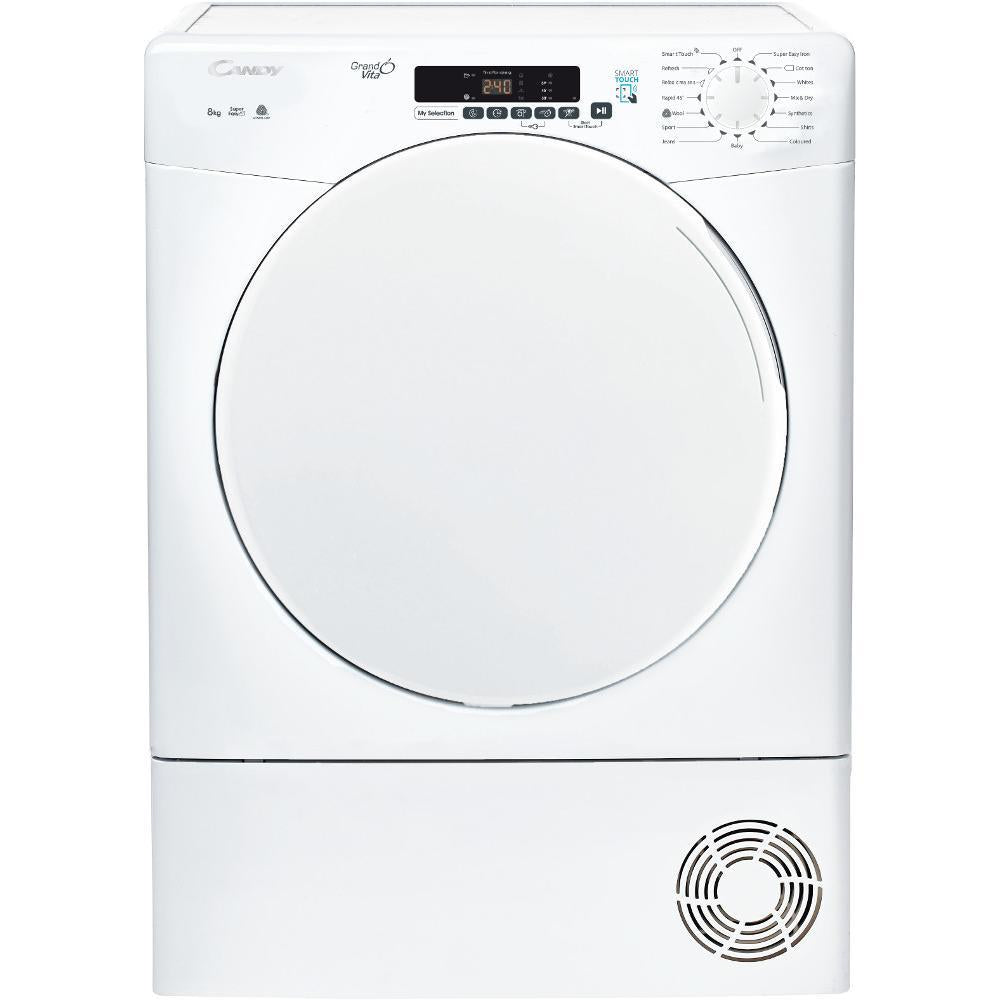 Candy CSC8DF 8kg Condenser Tumble Dryer - White