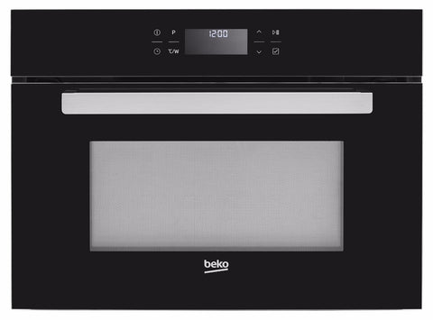 Beko BCW14500B Built-In Compact Oven and Microwave - Black