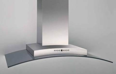 Airforce F70 90cm Italian Designer Cooker Hood Stainless Steel and Glass