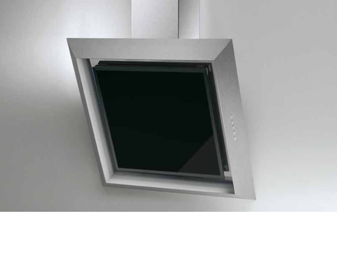 Airforce F47 90cm Designer Cooker Hood Stainless Steel and Black Glass