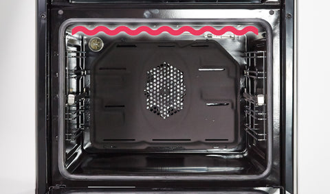Leisure POIM54300 Built-In Electric Single Oven - Black