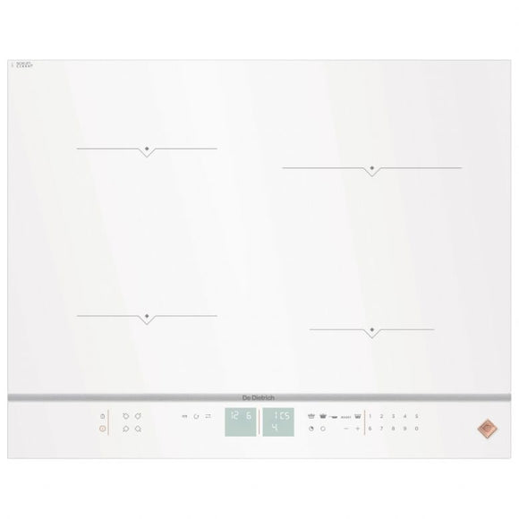De Dietrich DPI7670W 65cm Induction Hob - White