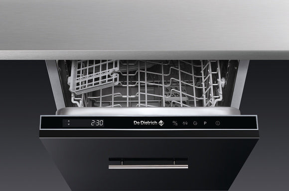 De Dietrich DVH1044J Slimline Built-In Dishwasher - Black