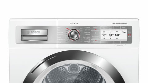 Bosch WTYH6791GB 9kg  Heat Pump Tumble Dryer - White