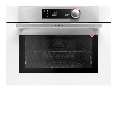 De Dietrich DKC7340W Built-In Microwave Combination Oven - Pure White
