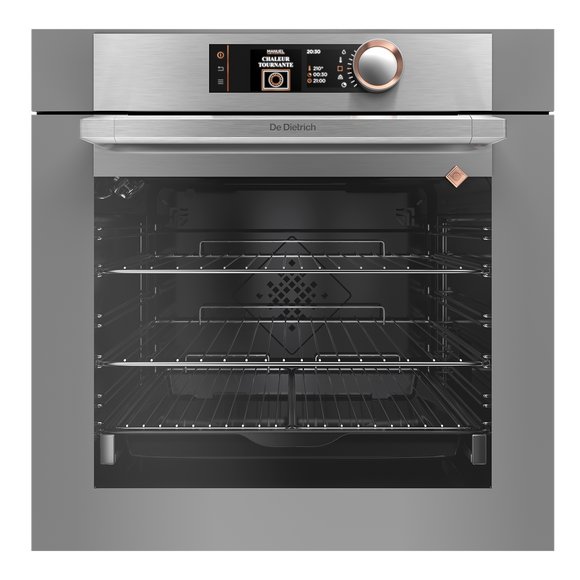 De Dietrich DOP7574G Built-In Electric Single Oven - Grey