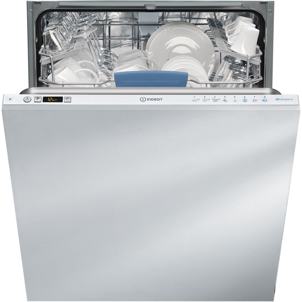 Indesit DIFP8T96Z Built-In Full size Dishwasher - White