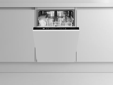 Beko DIN15311 Built-In Full Size Dishwasher - Integrated