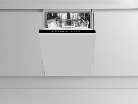 Beko DIN15R11 Full Size Built-In Dishwasher - Integrated