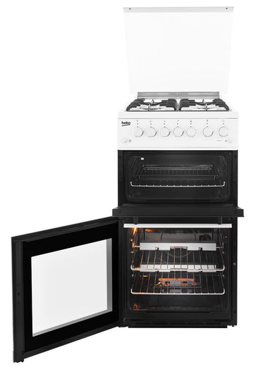 Beko EDG504W 50cm Gas Cooker - White