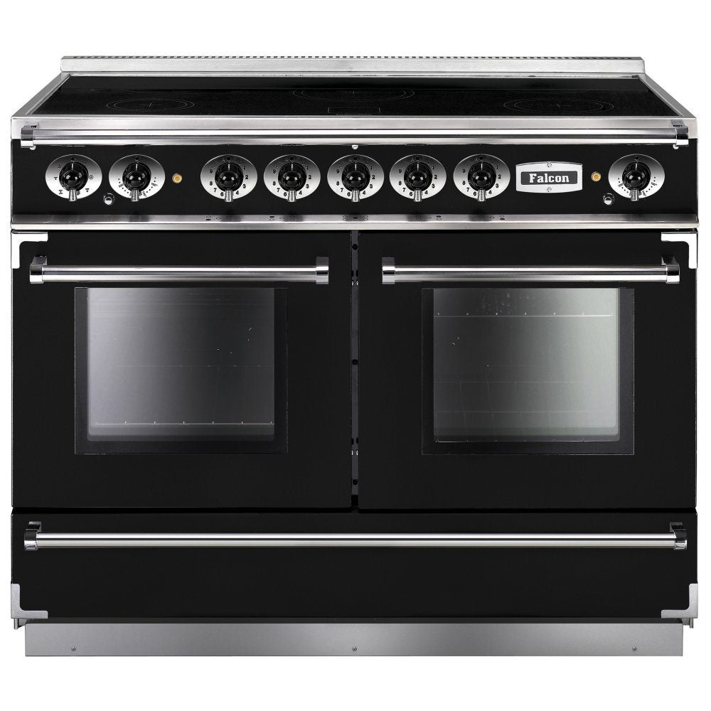 Falcon Continental FCON1092EIBL/C 110cm Induction Range Cooker - Black