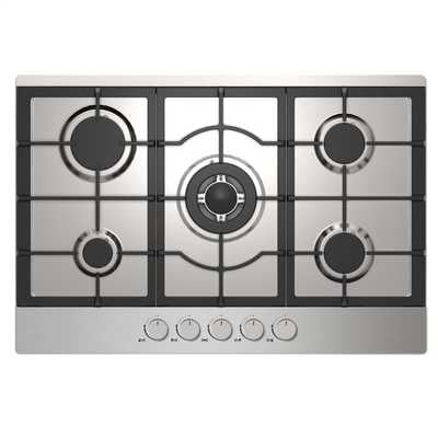 Statesman GH75SS 75cm Gas Hob - Stainless Steel