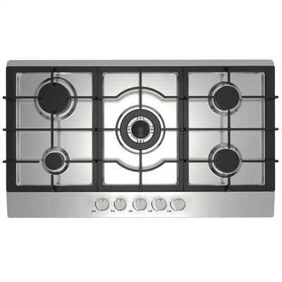 Statesman GH90SS 90cm Gas Hob - Stainless Steel