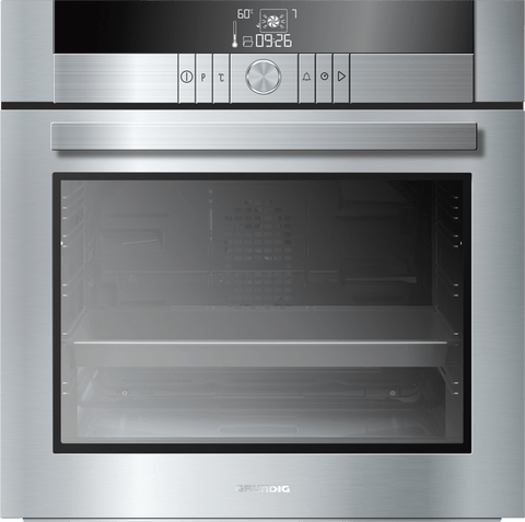 Grundig GEBM34001X 60cm Built-In Electric Single Oven - Stainless Steel