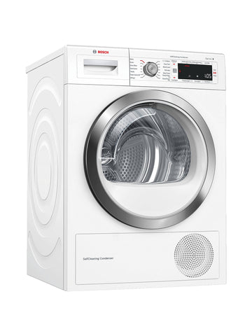 Bosch WTW87561GB 9kg Heat Pump Tumble Dryer - White