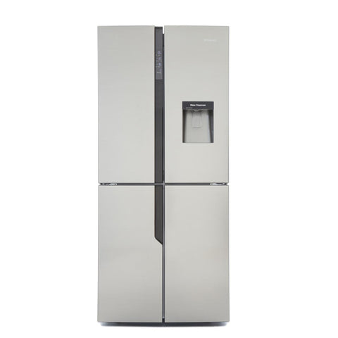 Hisense RQ560N4WC1 American Fridge Freezer Frost Free - Stainless Steel