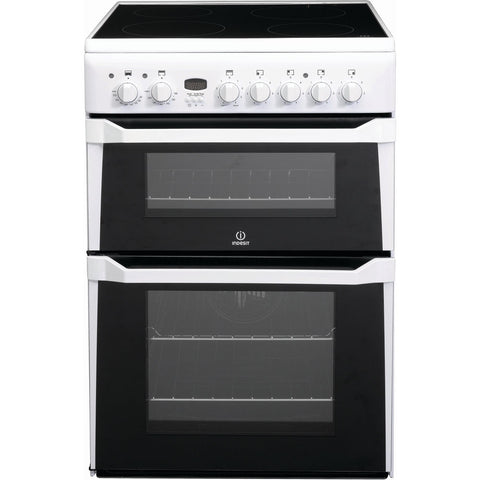 Indesit ID60C2W 60cm Electric Cooker - White