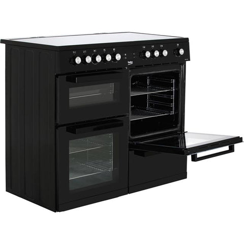 Beko KDVC100K 100cm Electric Range Cooker -Black
