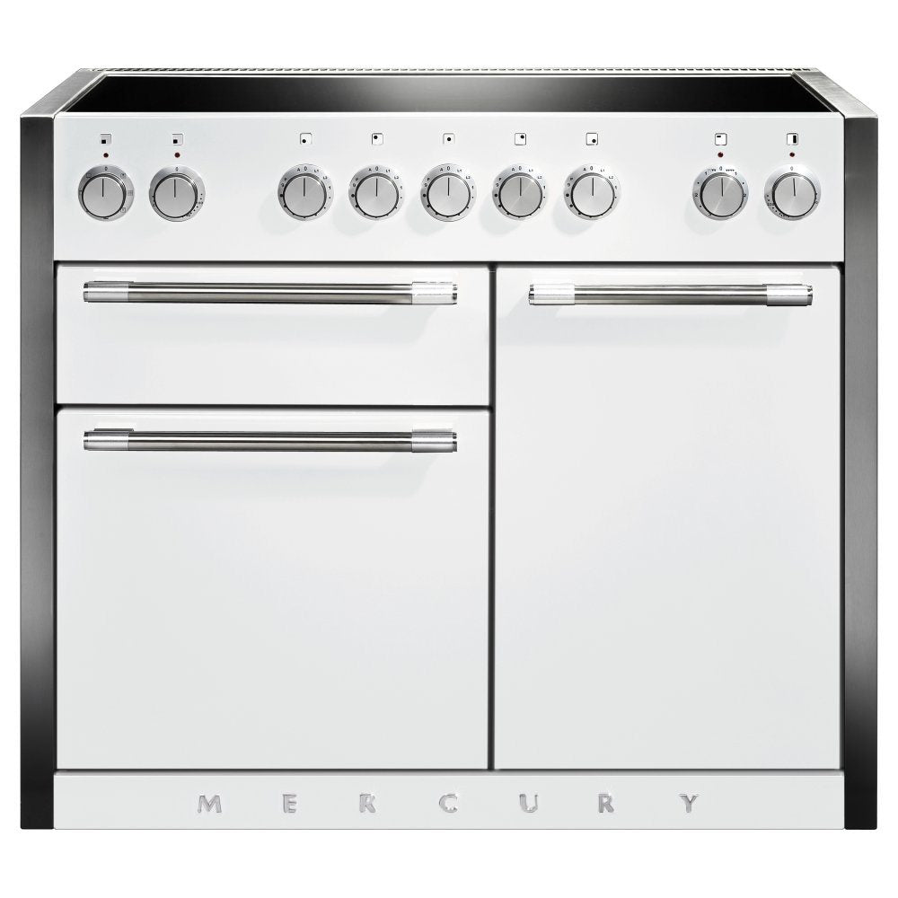 Mercury 1082 MCY1082EISD 110cm Induction Range Cooker - Snowdrop