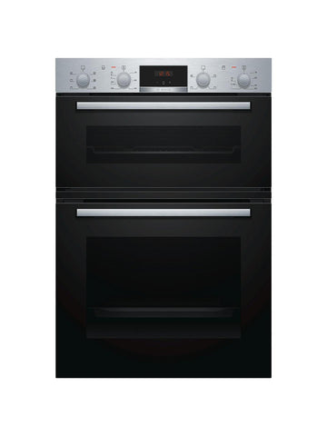 Bosch MBS133BR0B 90cm Built-In Electric Double Oven - Stainless Steel