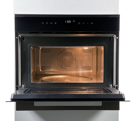 Rangemaster RMB45MCBL/SS Built-In Compact Oven and Microwave - Black 11230