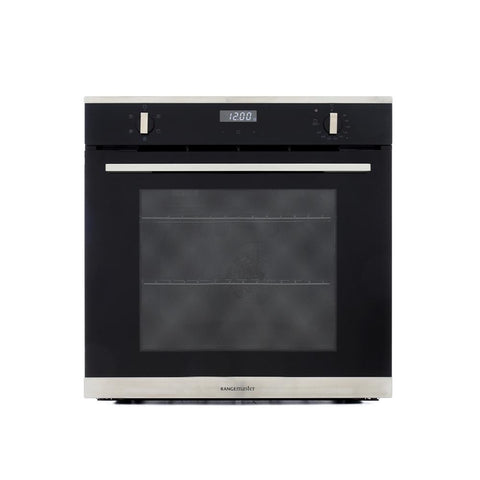 Rangemaster RMB605BL/SS 60cm Built-In Electric Single Oven - Black