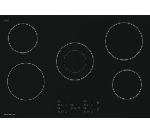 Rangemaster RMB75HPECGL 75cm Electric Ceramic Hob - Black
