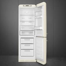 Smeg FAB32LCR3UK Left Hand Open Fridge Freezer - Cream