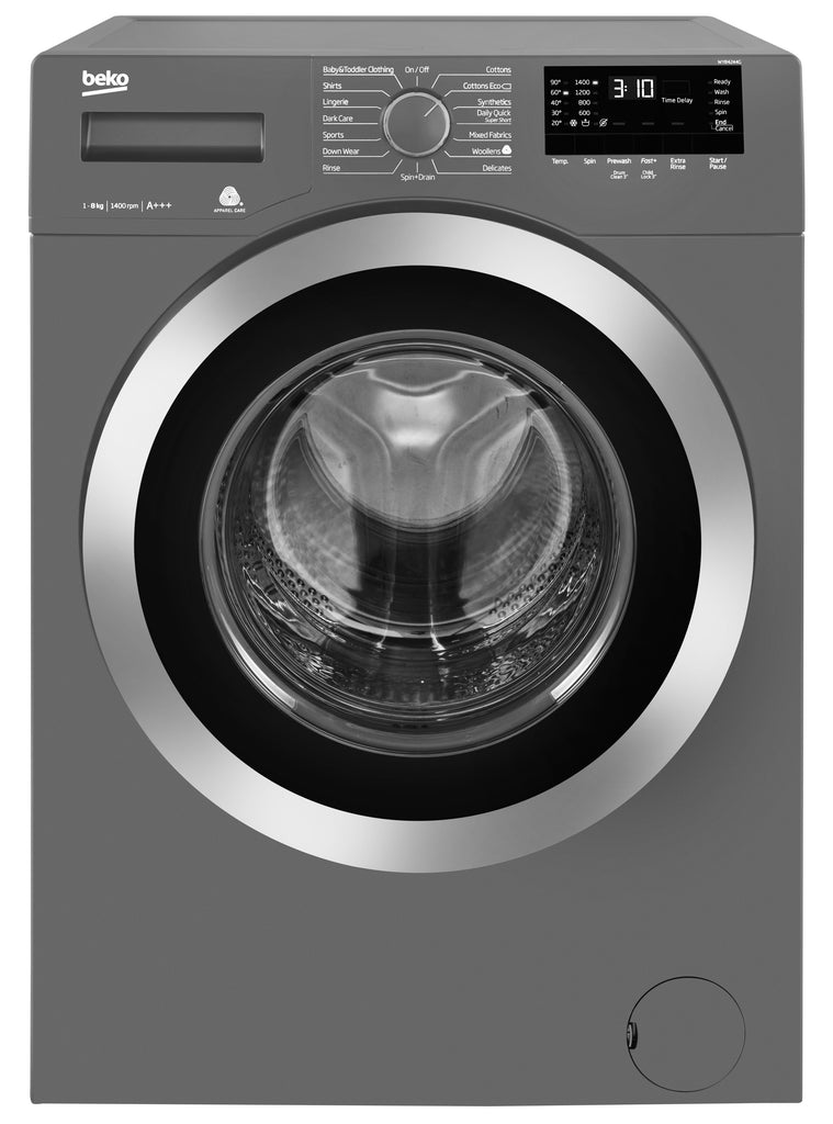Beko WY84244G 8KG 1400rpm Washing Machine - Grey