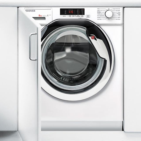 Hoover HBWM814SAC-80 8kg 1400rpm Built-In Washing Machine - White