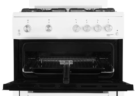 Beko XTG611W Gas Cooker - White